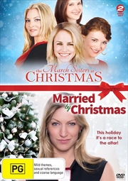 March Sisters At Christmas / Married By Christmas, The | DVD