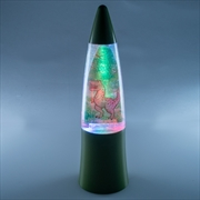 Dino Island Shake & Shine Glitter Lamp | Accessories