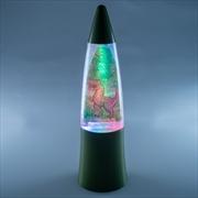 Dino Island Shake & Shine Glitter Lamp