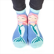 Mermaid Feet Speak Socks