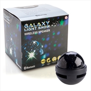 Galaxy Light Show Wireless Speaker with Black Base