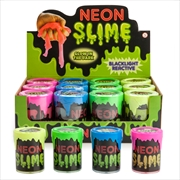 Glow In The Dark Neon Slime