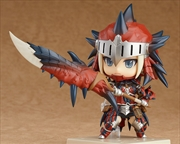 Monster Hunter: World Female Rathalos Armor Edition Nendoroid Hunter