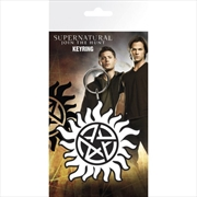 Supernatural Anti Possession Symbol Keyring