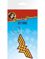 DC Comics Wonder Woman Logo Keyring | Accessories