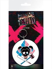 DC Comics Suicide Squad Harley Skull Keyring | Accessories