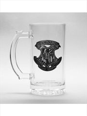 Harry Potter Hogwarts Stein Glass