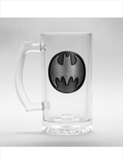 DC Comics Batman Stein Glass