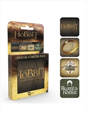 The Hobbit Mix Set Of 4 Coasters | Merchandise