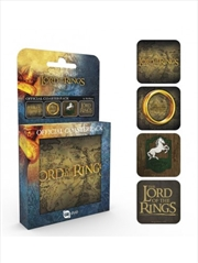 Lord of the Rings Mix Set Of 4 Coasters