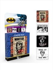 DC Comics Joker Set Of 4 Coasters