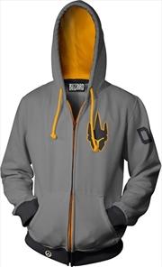 Overwatch Ultimate Reinhardt Zip-Up Hoodie XS