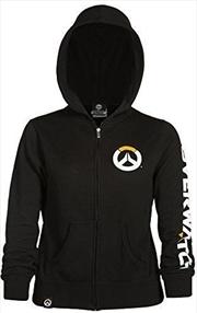 Overwatch Logo Womens Zip-Up Hoodie S