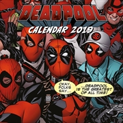 Deadpool Official 2019 Square Calendar