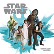 Star Wars Classic Official 2019 Calendar - Square Wall Calendar Format
