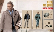 """Steve McQueen - Special Edition 12"""" 1:6 Scale Action Figure"""