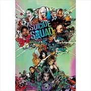 DC Comics Suicide Squad One Sheet | Merchandise