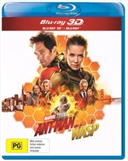 Ant-Man And The Wasp | 3D + 2D Blu-ray (BONUS POSTER)
