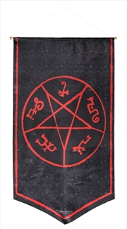 Supernatural - Devil's Trap Symbol Banner | Merchandise