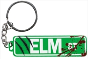 A Nightmare on Elm Street - Elm St Sign Metal Keychain | Accessories