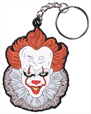 It (2017) - Pennywise Face PVC Keychain | Accessories