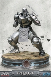 Alphonse Elric Silver Statue