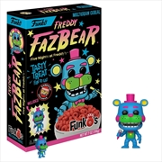 Five Nights at Freddy's - Freddy Blacklight Freddy Blacklight FunkO's Cereal [RS]