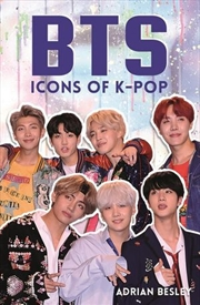 BTS - Icons Of K-Pop | Paperback Book