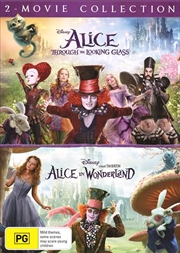 Alice In Wonderland / Alice Through The Looking Glass | DVD
