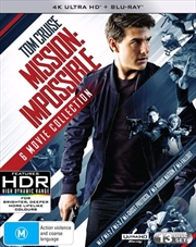 Mission Impossible - 6 Movie Franchise Pack | UHD