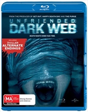 Unfriended - Dark Web | Blu-ray