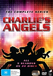 Charlies Angels - Season 1-5 (SANITY EXCLUSIVE)