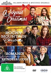 Hallmark Christmas Collection 2 - A Joyous Christmas / Romance at Reindeer Lodge / Rocky Mountain Ch