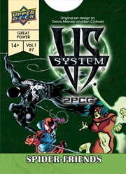 Marvel Vs System - Spider-Friends 2PCG
