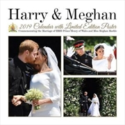 Prince Harry & Meghan Markle Commemorative 2019 Royal Wedding Calendar