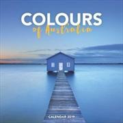 Colours of Australia 2019 Square Wall Calendar
