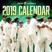 Cricket Australia 2019 Square Wall Calendar