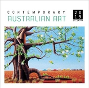 Contemporary Australian Art 2019 Square Wall Calendar