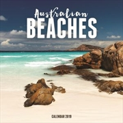 Australian Beaches 2019 Square Wall Calendar
