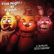 Five Nights at Freddy's Official 2019 Square Wall Calendar