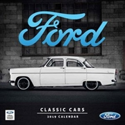 Classic Ford Cars 2019 Square Wall Calendar