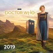 Doctor Who 2019 Official Wall Calendar