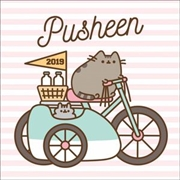 Pusheen Official 2019 Square Wall Calendar