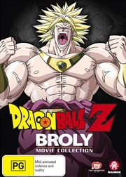 Dragon Ball Z Broly Movie Collection | DVD