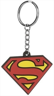 DC Comics Superman Keyring Rubber | Accessories