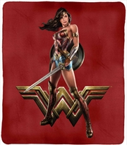 DC Justice League Throw Rug Wonder Woman