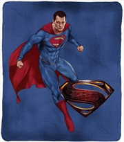 DC Justice League Throw Rug Superman