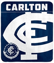 AFL Polar Fleece Rug Calton Blues | Merchandise
