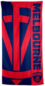 AFL Beach Towel Melbourne Demons | Apparel
