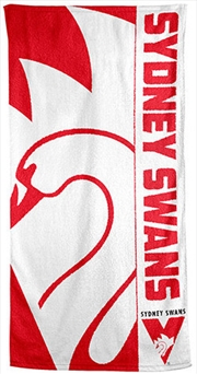 AFL Beach Towel Sydney Swans